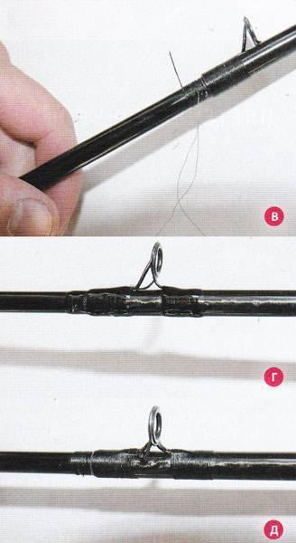 Как починить спиннинг своими руками - разбор разных ситуаций