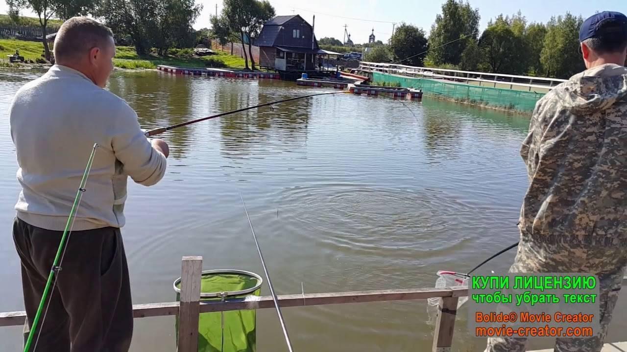 Рыбалка в Юсупово Домодедовского района