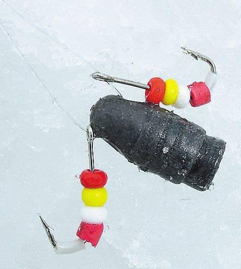 Ловля окуня зимой на балду: снасть, техника и тактика, как сделать своими руками