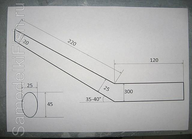 Квок на сома своими руками: как сделать, чертежи, особенности изготовления из ложек