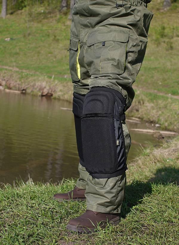 Наколенники для рыбалки зимней своими руками