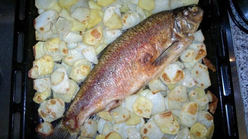 Язь в духовке: рецепт приготовления изысканного рыбного блюда | в духовке