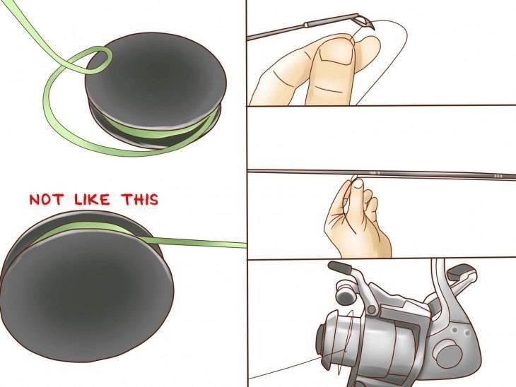 Как правильно намотать леску на спиннинговую катушку