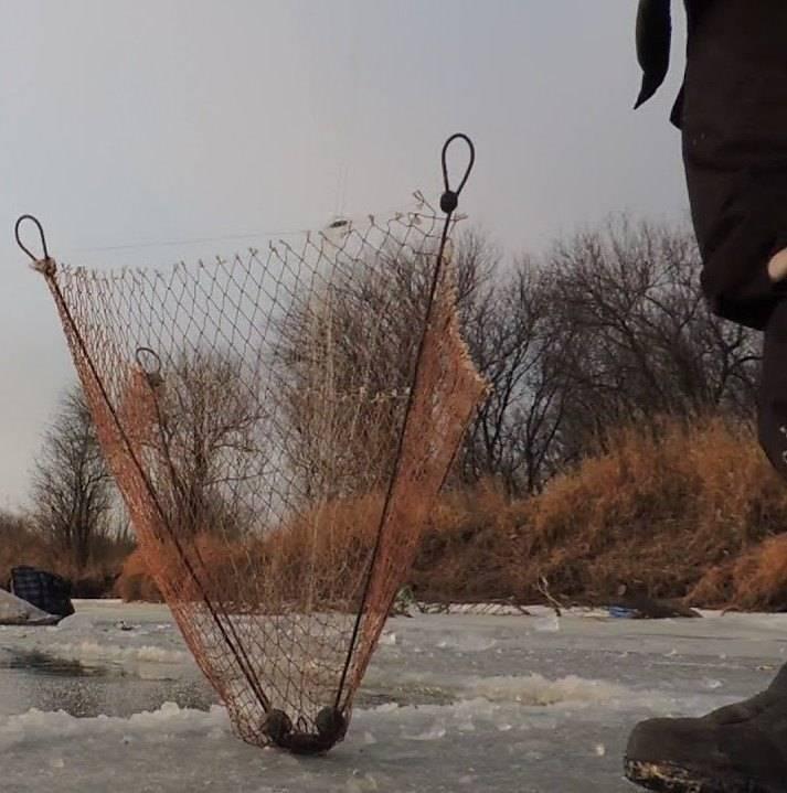Косынка для зимней рыбалки - что это такое, особенности применения снасти и советы как сделать и установить правильно (100 фото)