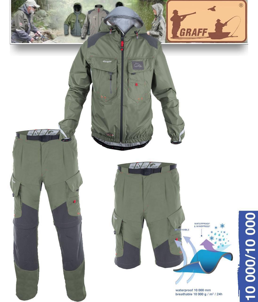 Все об одежде для рыбалки graff