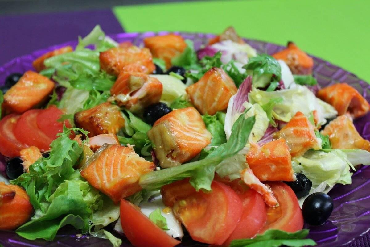 Салат с красной рыбой – изысканно и вкусно! рецепт с фото и видео
