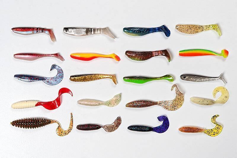 Виброхвост на судака: лучшие силиконовые приманки 10 топ моделей