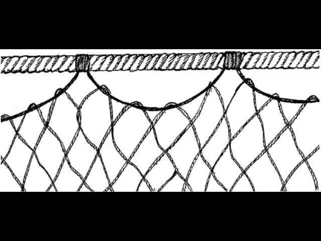 Плетение рыболовных сетей своими руками