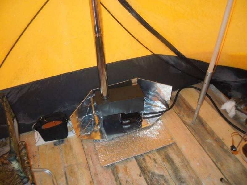 Как и чеми утеплить палатку зимой: что советуют бывалые рыбаки?