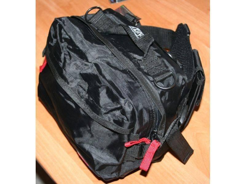 Непромокаемая сумка для рыбалки - самодельный подсумок для улова рыбы