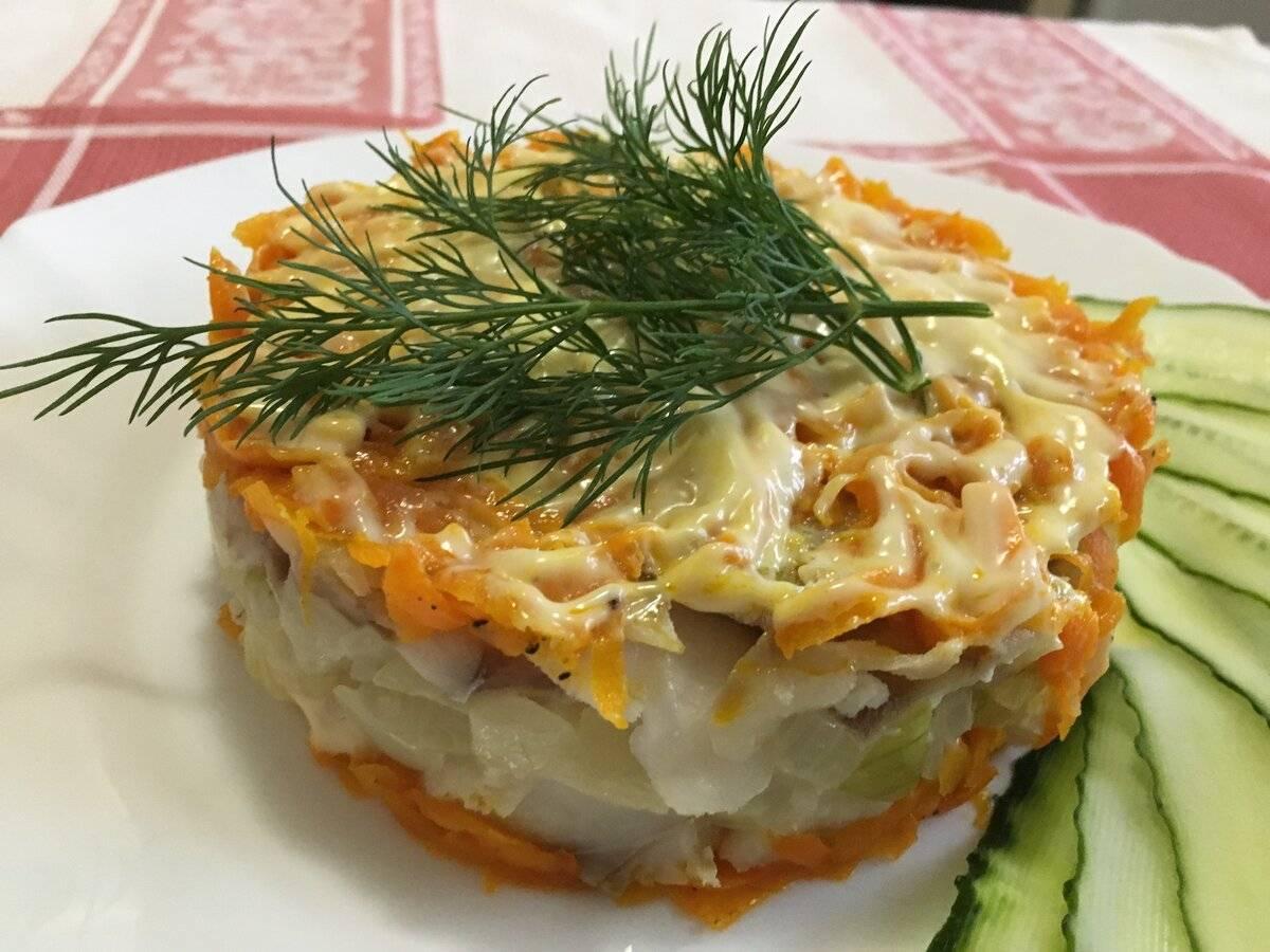 Салат из рыбы (более 100 рецептов с фото) - рецепты с фотографиями на поварёнок.ру