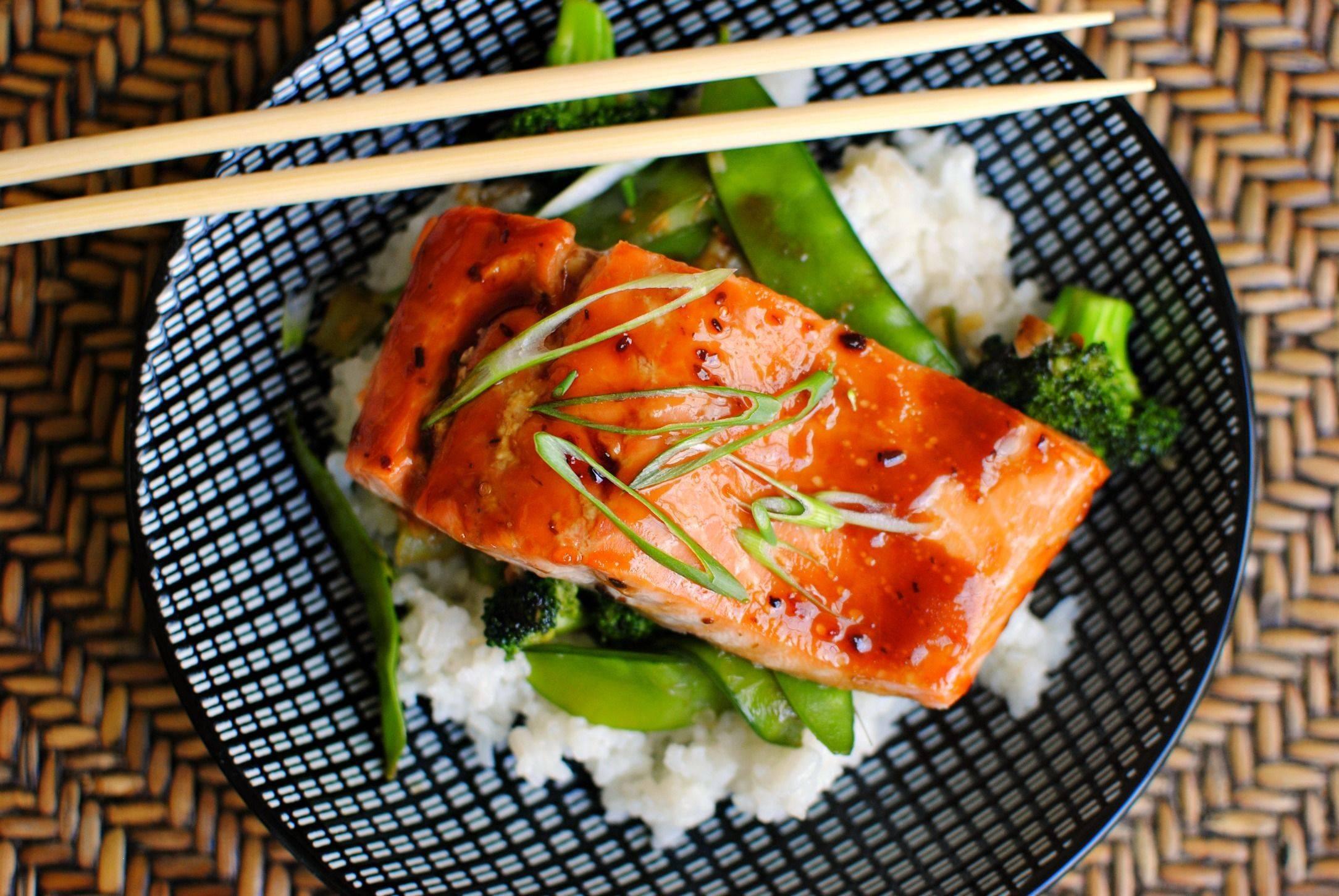 Лосось терияки | рецепты японской кухни с фото