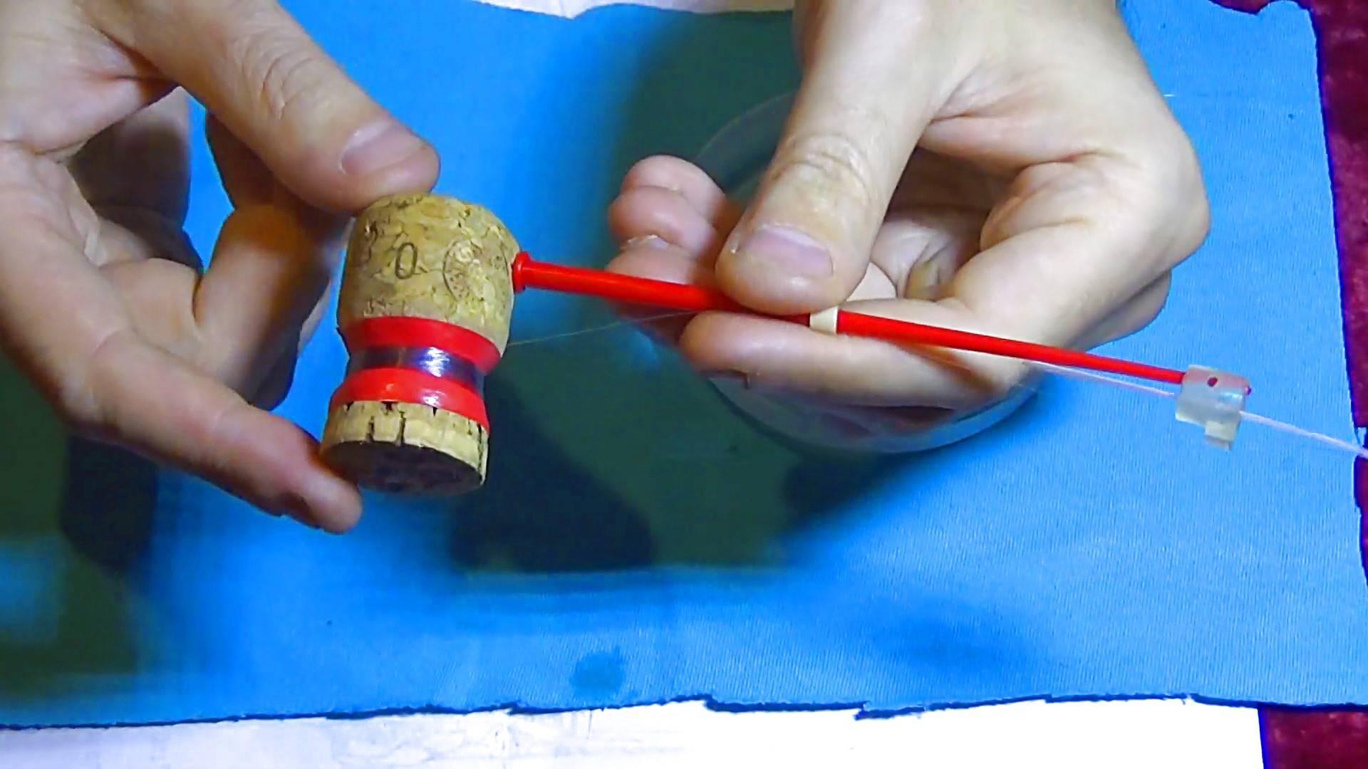 Зимняя удочка для блеснения своими руками — материалы, инструменты, советы и чертежи