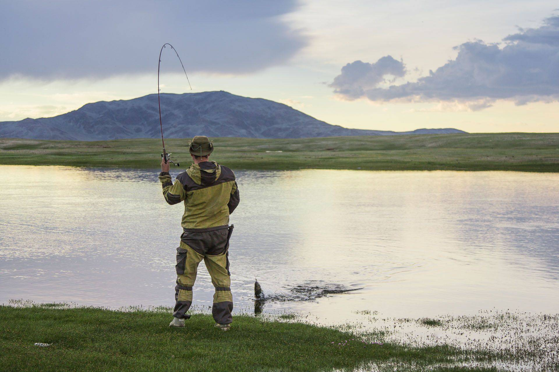 Рыбалка на алтае