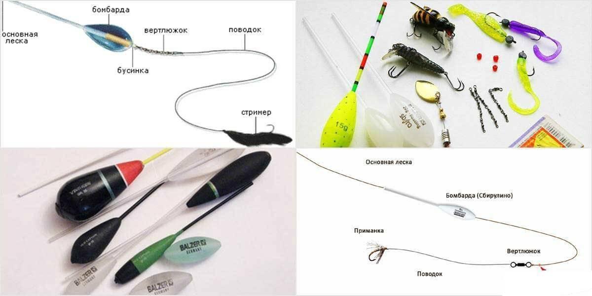 Бомбарда (сбирулино) для рыбалки