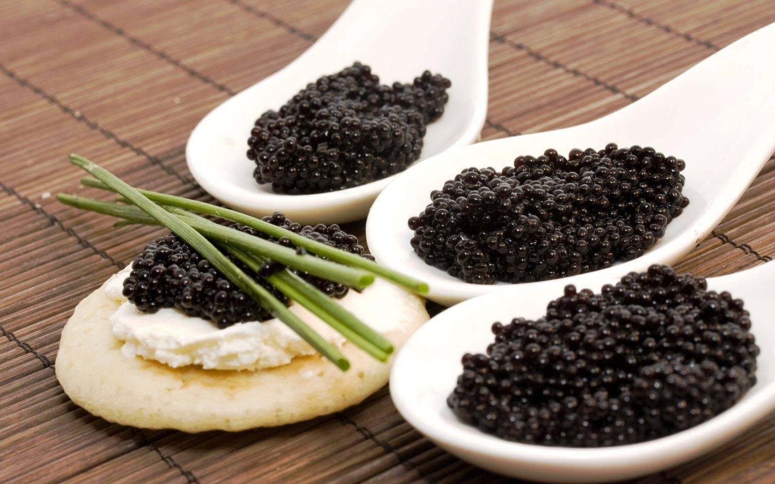 Черная икра: полезные свойства и противопоказания для здоровья