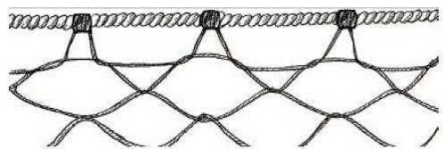 Как правильно вязать рыболовную сеть?