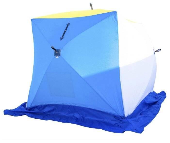 Палатка для зимней рыбалки: как правильно выбрать и на что обращать внимание