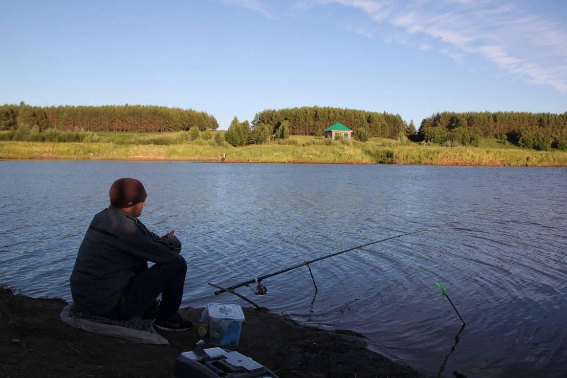 Рыбалка в Республике Татарстан: лучшие места на карте