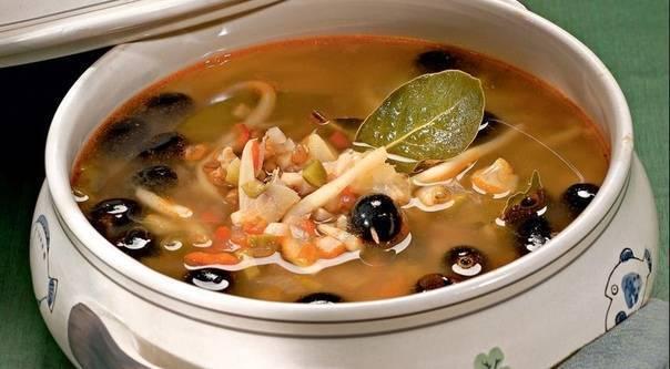 Раковый суп – кулинарный рецепт