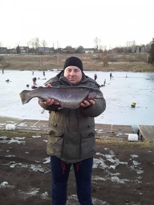 Платная рыбалка в леоново