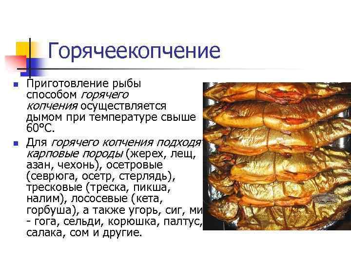 Как хранить копченую рыбу надёжно