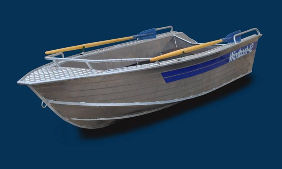 Лодки риб - winboat 360 и skyboat 360