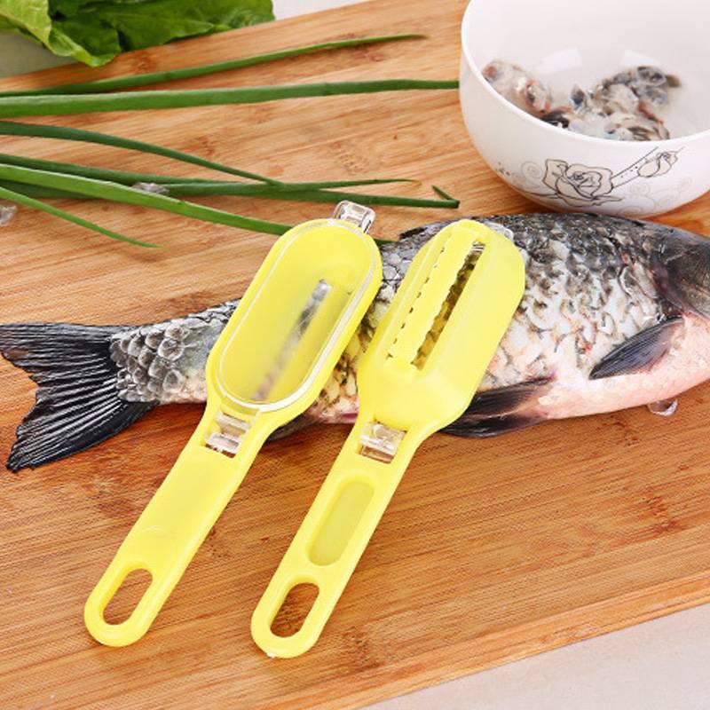 Нож для чистки рыбы, разновидности по форме лезвия, советы как выбрать