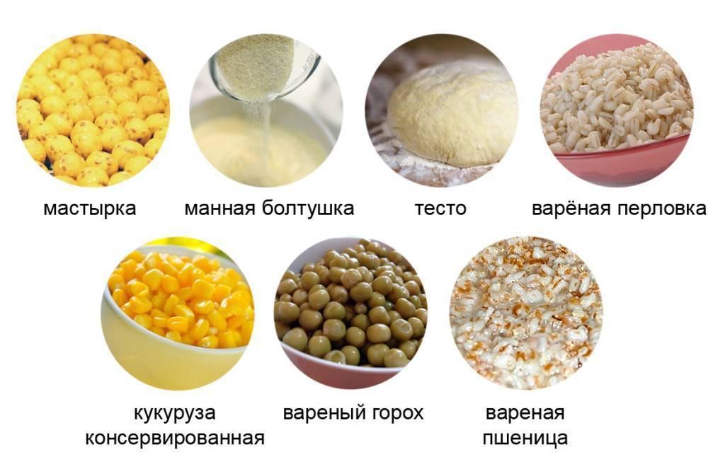 Наживки и приманки для карася - животные и растительные насадки, миксы, лучшие ароматизаторы, рецепты прикормки