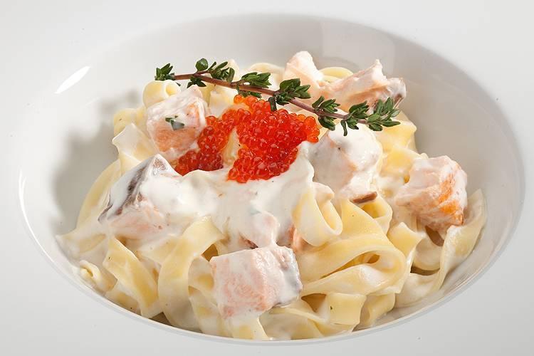 7 отличных рецептов пасты с морепродуктами в сливочном соусе