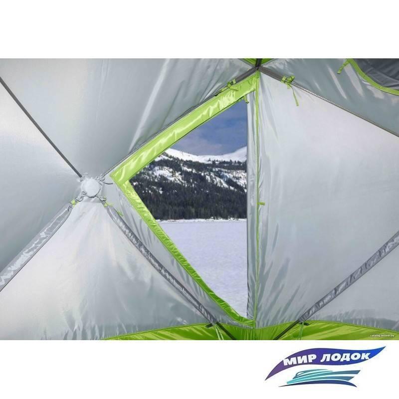 Зимняя палатка лотос (1, 2, 3 и другие), особенности и преимущества моделей для рыбалки