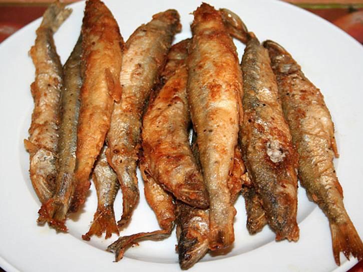 """Корюшка жареная """"ужин приморского рыбака"""" – кулинарный рецепт"""