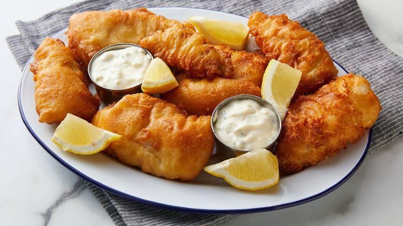 Кляр для рыбы - 10 простых и вкусных рецептов с фото пошагово