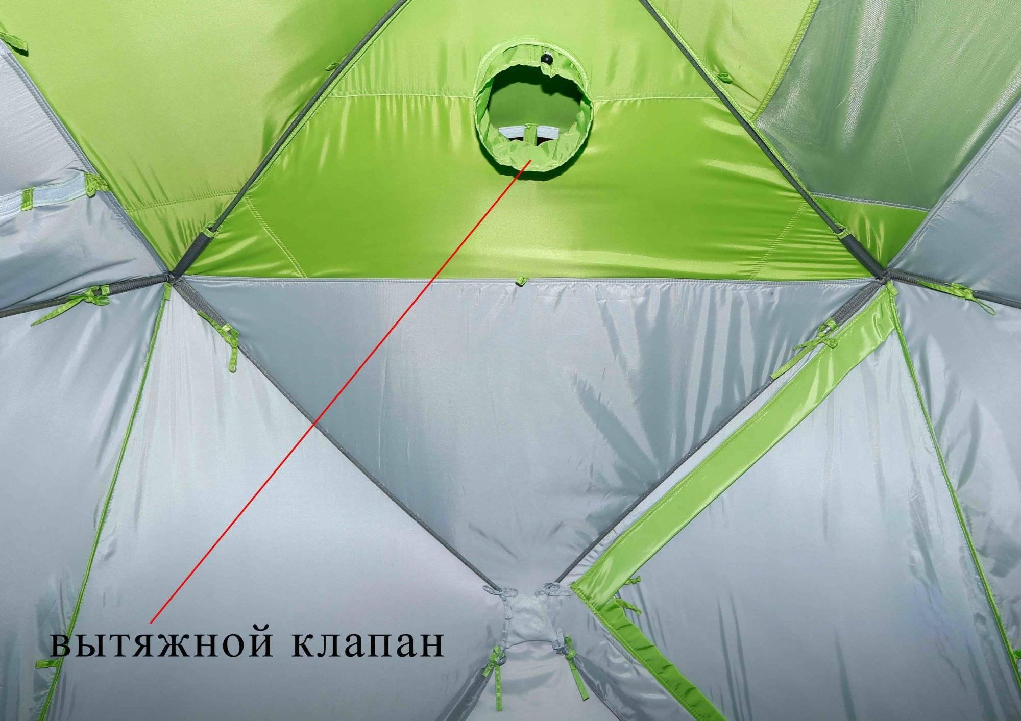 Как выбрать палатку-куб для зимней рыбалки?