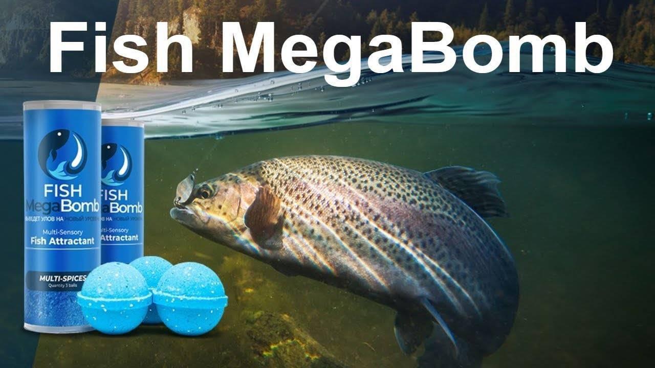 Fish megabomb - новая (инновационная) приманка 2019 года