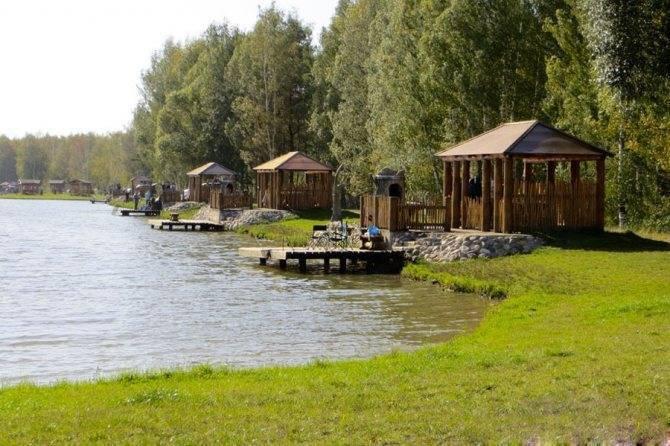 Рыбацкая деревня: платная рыбалка и отдых