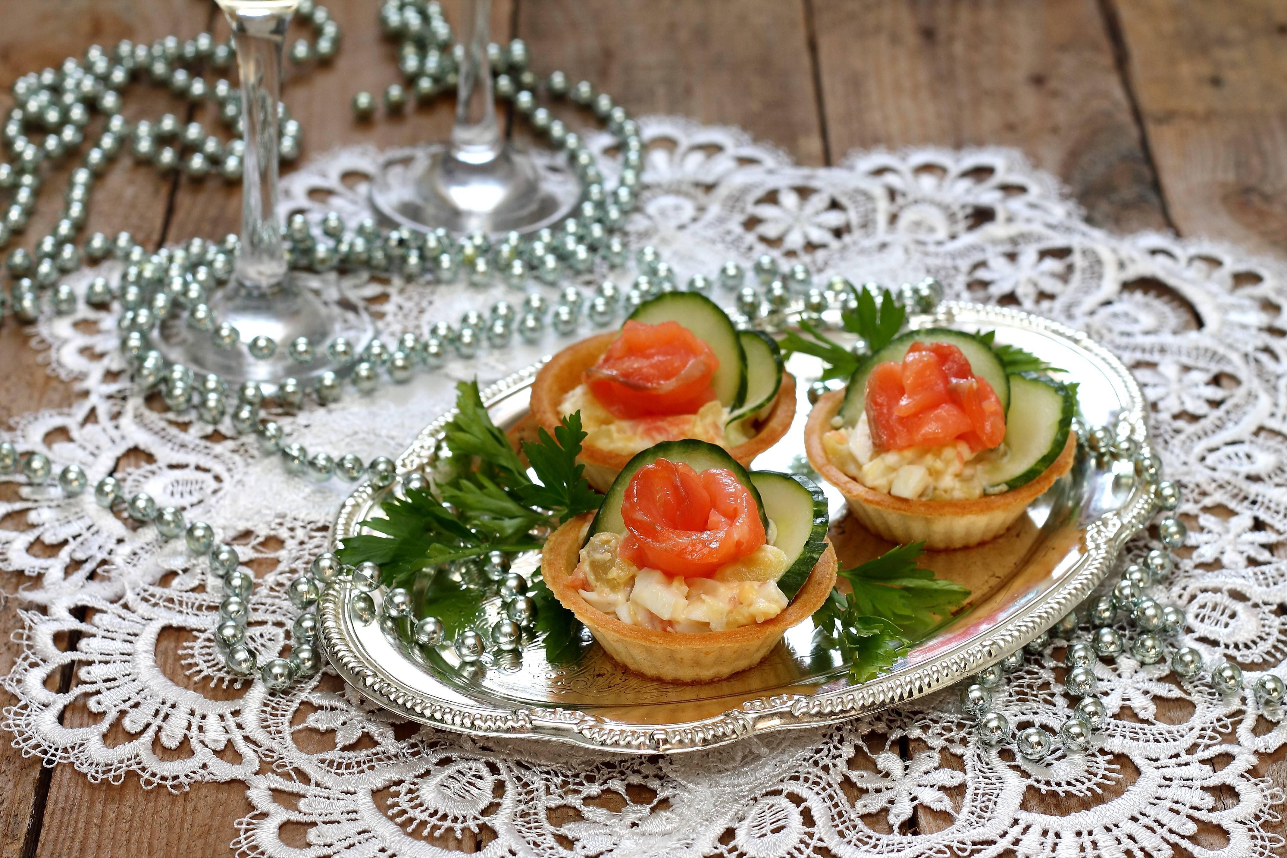 Тарталетки с начинкой - 50 рецептов с фото