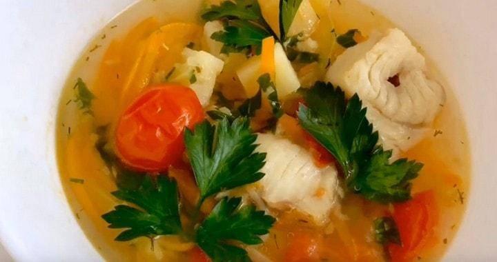 Суп из минтая - безграничный полет фантазии: рецепт с фото и видео