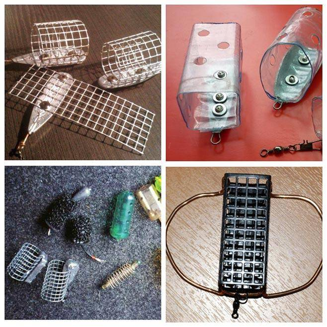 Кормушки для фидера: устройство кормушки, оснастка и советы для начинающих (125 фото и видео)