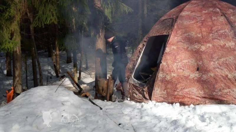 Способы утепления палатки