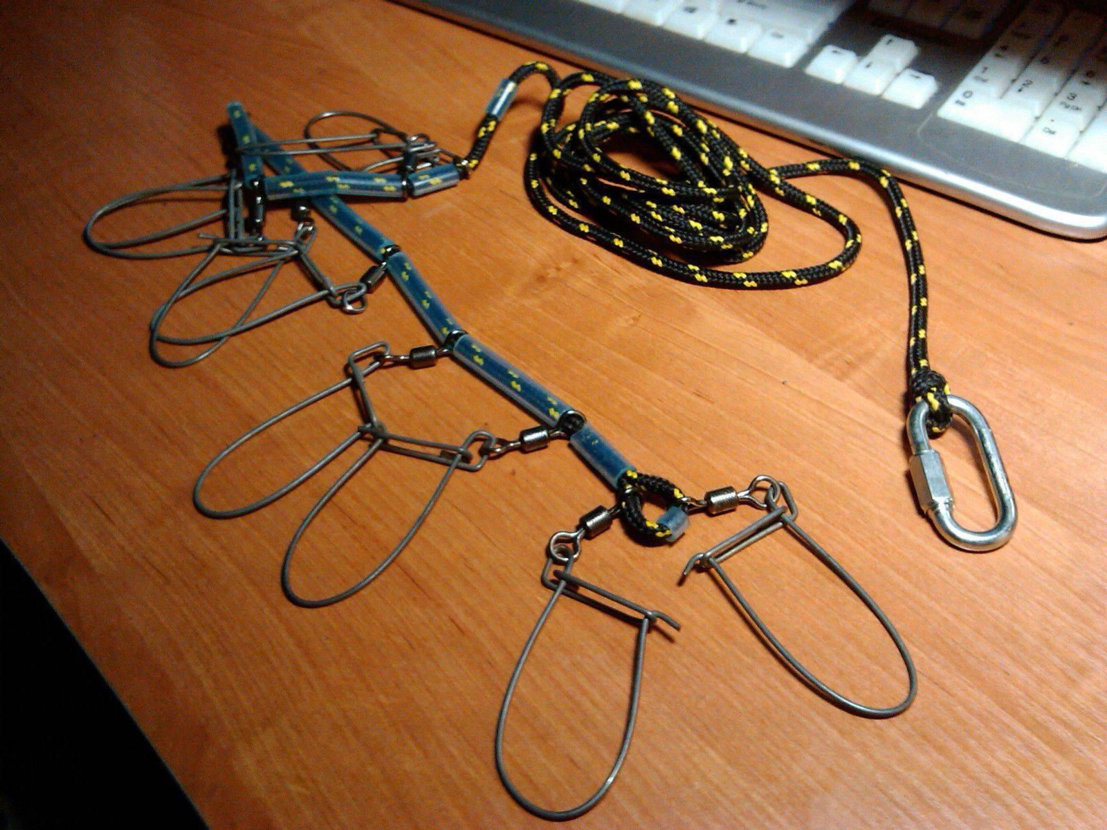 Снасть кукан — виды, советы по выбору, изготовление своими руками