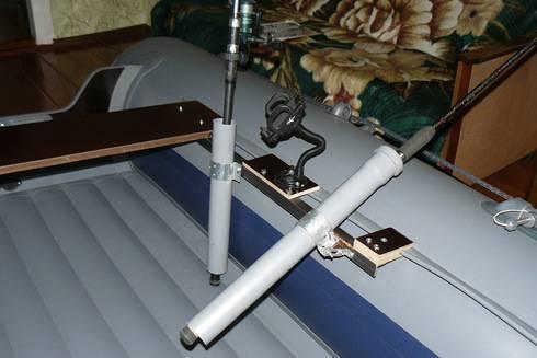 Держатели для спиннинга на лодку - 120 фото и видео применения держателей для удилищ