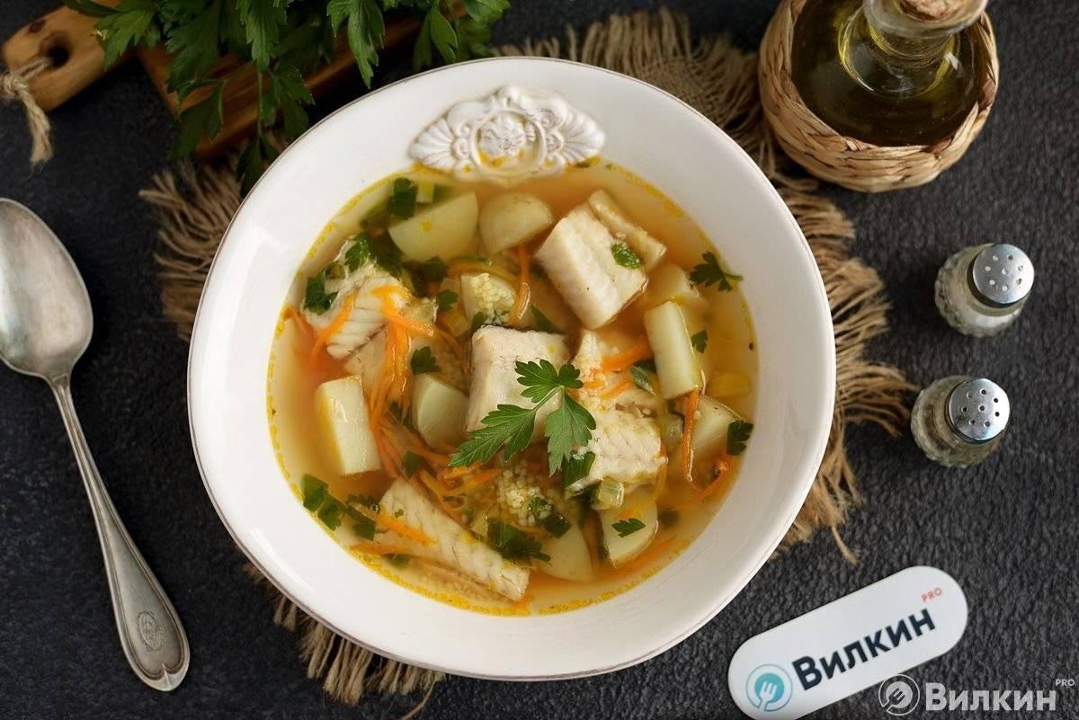 Рыбный суп из минтая — рецепты с фото, как приготовить из филе рыбы