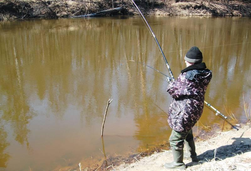 Фидерные оснастки в стоячей воде для озер, прудов и водохранилищ
