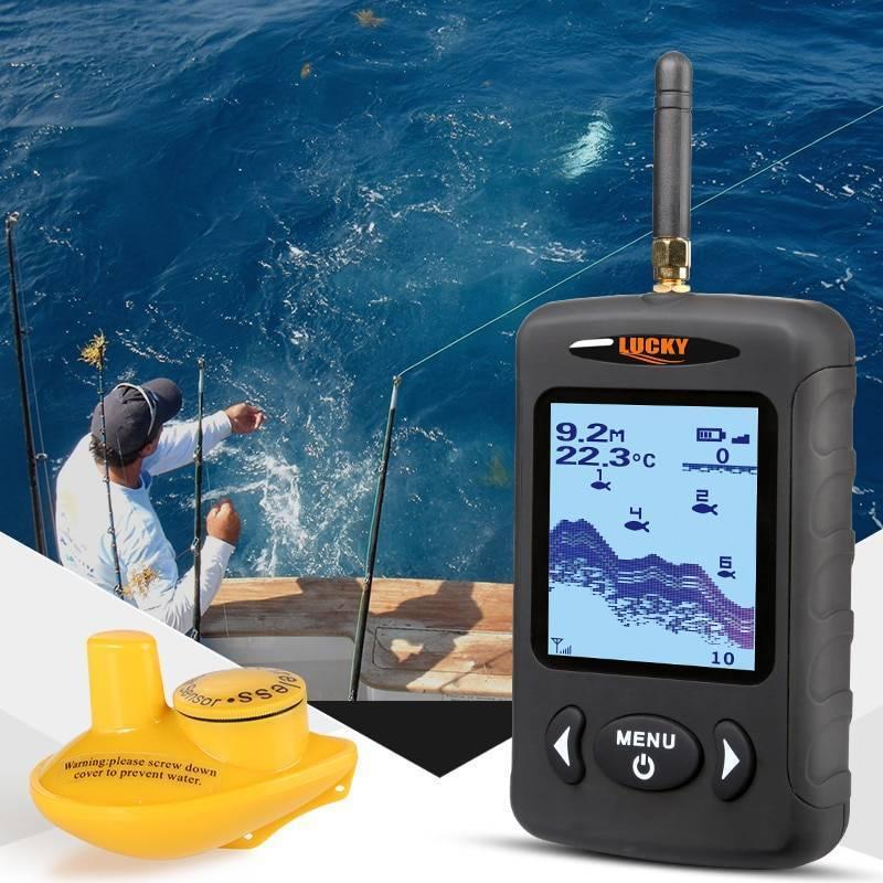 Беспроводной эхолот lucky — отзывы, популярные портативные модели (ff1108, fish finder 718, ff918)