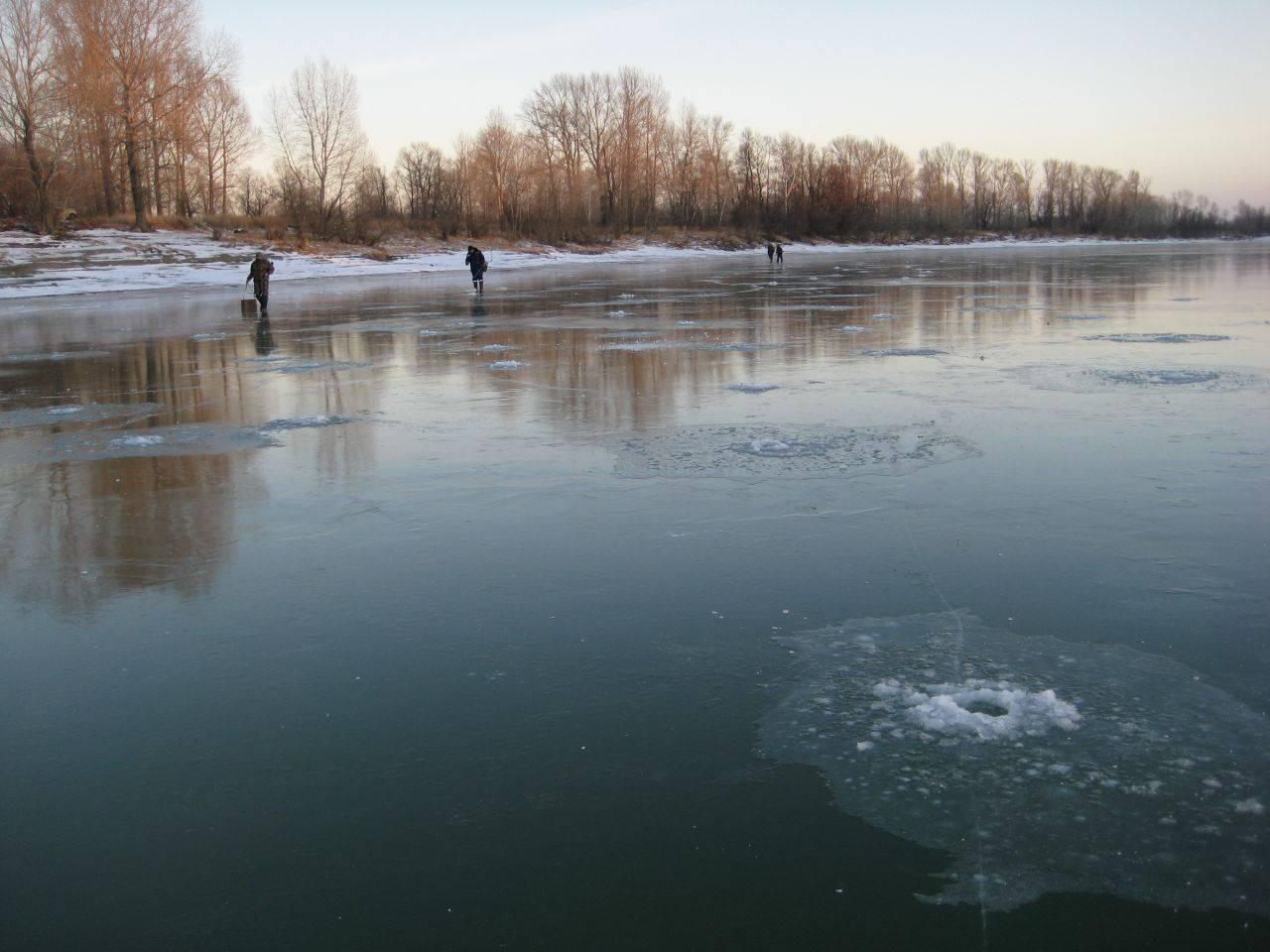 Перволедье и безопасность на льду