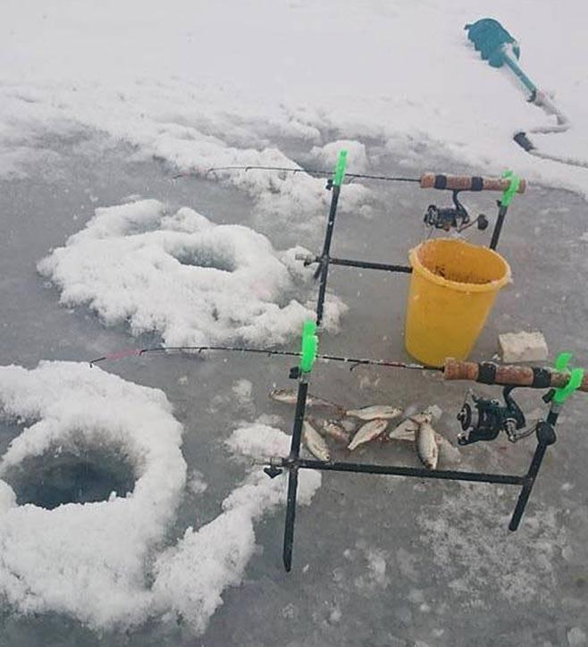 Ловля на фидер зимой: особенности, техника и тактика