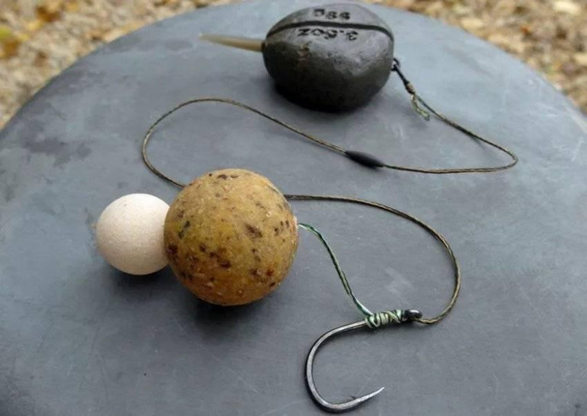 Ловля рыбы на пенопластовые шарики вместо наживки