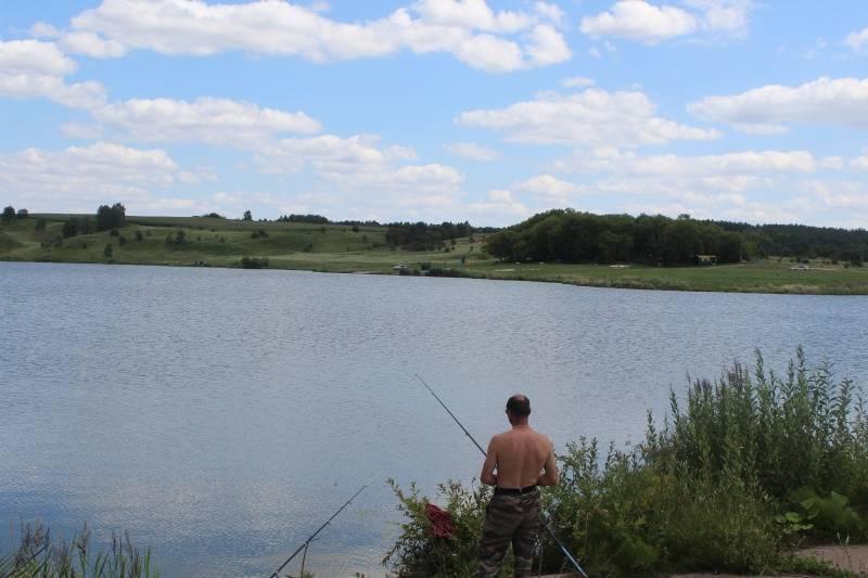 Рыбные места в брянске и брянской области