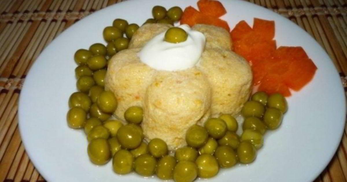 Суфле рыбное из лосося в духовке рецепт с фото пошагово - 1000.menu
